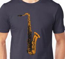 gold saxophone Unisex T-Shirt