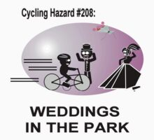 Cycling Hazard - Wedding in the park Baby Tee