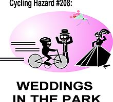 Cycling Hazard - Wedding in the park by Weber Consulting