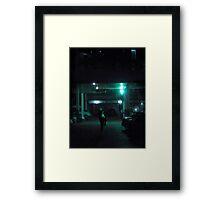 rostov, twilight, three Framed Print