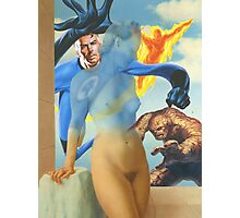 FANTASTIC FOUR VS MAGRITTE Photographic Print