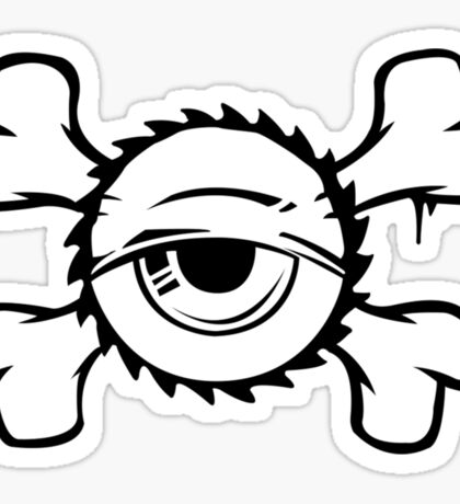 Urban Eye. Sticker