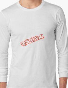 Roblox logo - Unofficial Merchandise Long Sleeve T-Shirt