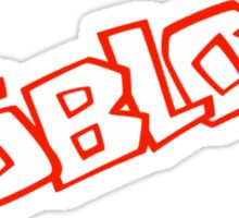 Roblox logo - Unofficial Merchandise Sticker