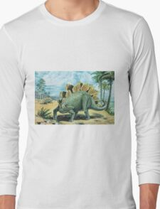 Stegosaurus Long Sleeve T-Shirt