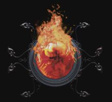 Final Fantasy - Phoenix Materia Tee by Reverendryu