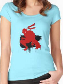 Red Turtle Women's Fitted Scoop T-Shirt