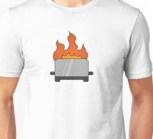 RAIN - Toaster on Fire Unisex T-Shirt