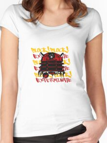 Exterminate the Block! Women's Fitted Scoop T-Shirt