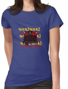 Exterminate the Block! Womens Fitted T-Shirt
