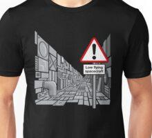 Low Flying Spacecraft Unisex T-Shirt