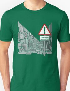 Low Flying Spacecraft T-Shirt