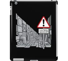 Low Flying Spacecraft iPad Case/Skin