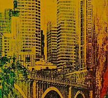 Painted Minneapolis  iphone case by susan stone