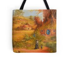 A Visit From Gandalf Tote Bag