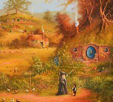 A Visit From Gandalf by Joe Gilronan
