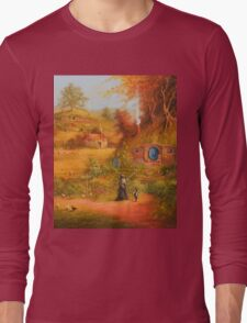 A Visit From Gandalf Long Sleeve T-Shirt