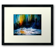 Where Silence Lives.. Framed Print