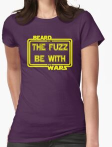 Beard Wars May The Fuzz Be With You Men's Funny Beard Sci-fi T-shirt. T-Shirt