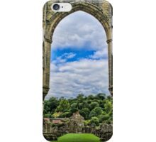 Rievaulx Abbey View iPhone Case/Skin