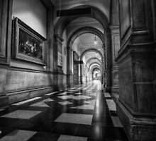 The Painting in the Corridor || Kelvingrove Art Gallery and Museum, Glasgow  by Anir Pandit
