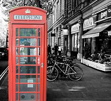 Red Telephone Box by Yukondick