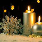 Christmas candles by homydesign
