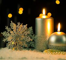 Christmas candles by homydesign