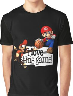 Mario Diddy Kong Graphic T-Shirt