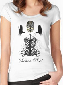 MDNA - Strike a Pose! Women's Fitted Scoop T-Shirt