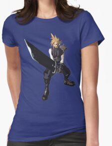 Cloud Battle Stance  Womens Fitted T-Shirt