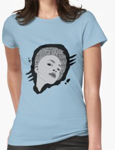 sexy woman Womens Fitted T-Shirt