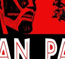 Shingeki no Kyojin ( attack on titan ) - TITAN PARK Sticker