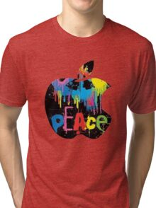 Peace apple Tri-blend T-Shirt