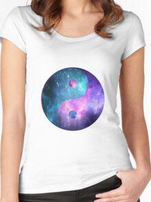 Yin Yang Women's Fitted Scoop T-Shirt