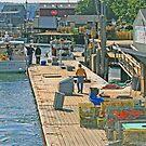 South Bristol Harbor by Jack Ryan