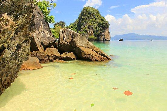 Tropical Beach - Ko Hong, Thailand by Honor Kyne