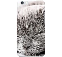 Wild nature - cat #3 iPhone Case/Skin