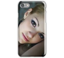 Sensual and Charming loving girl in art portrait iPhone Case/Skin