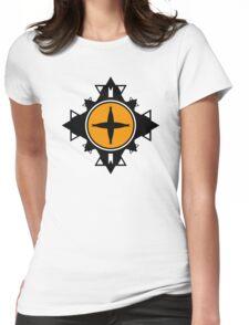 Fractal Art Womens Fitted T-Shirt