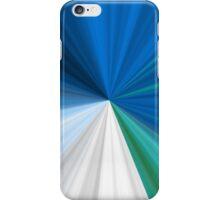 Blue, green & white - Iphone case iPhone Case/Skin