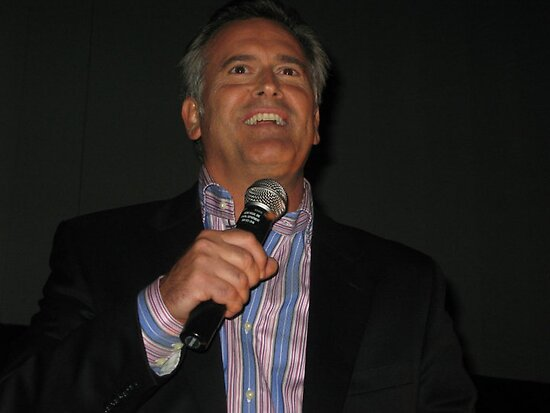 Bruce Campbell by Rebecca Reist