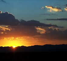 Sunrise Across Nevada by Glenn McCarthy