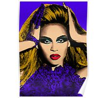 Beyonce Pop Art - #beyonce #beehive Poster