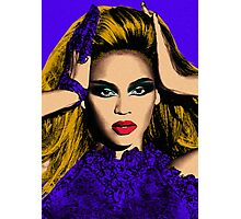 Beyonce Pop Art - #beyonce #beehive Photographic Print