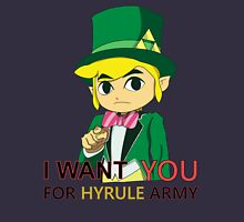 I WANT YOU FOR HYRULE ARMY Unisex T-Shirt