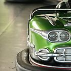 Green - Kiddieland Bumper Car by runawaywind