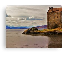 Eilean Donan Castle - Winter  Canvas Print