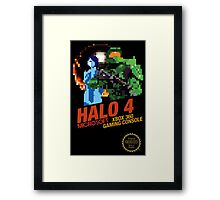Retro Sci-Fi Shooter Case Framed Print