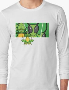 Patient Grasshopper 2 Long Sleeve T-Shirt